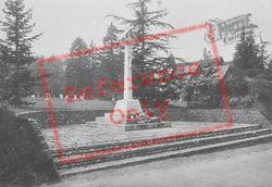 War Memorial And Church 1923, Tilford