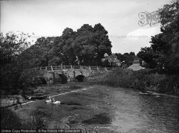 Photo of Tilford, West Bridge 1936