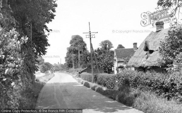 Photo of Tillingham, Bradwell Road c.1955