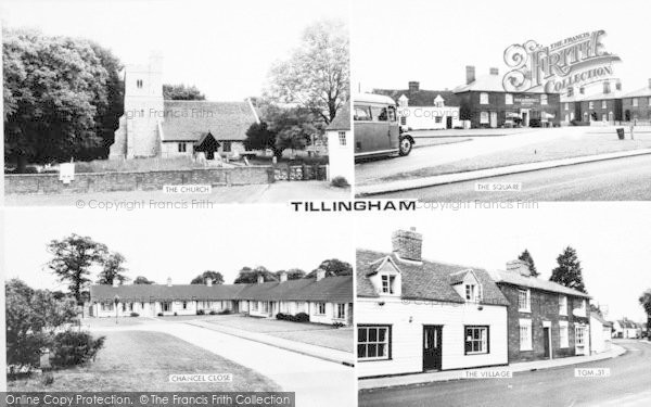 Photo of Tillingham, Composite c.1965