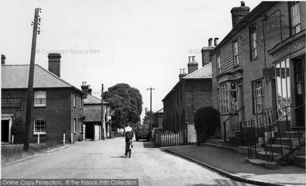Photo of Tillingham, Marsh Road c.1955