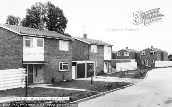Photo of Tillingham, Mill Road c.1965