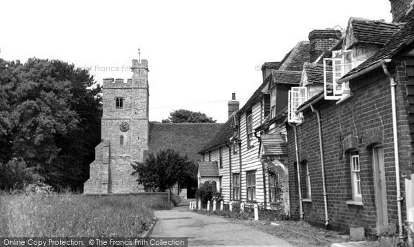 Photo of Tillingham, St Nicholas' Church c1955