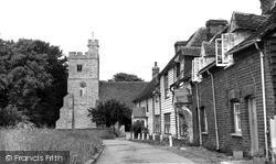 Tillingham, St Nicholas' Church c.1955