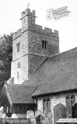 Tillingham, St Nicholas Church c.1955