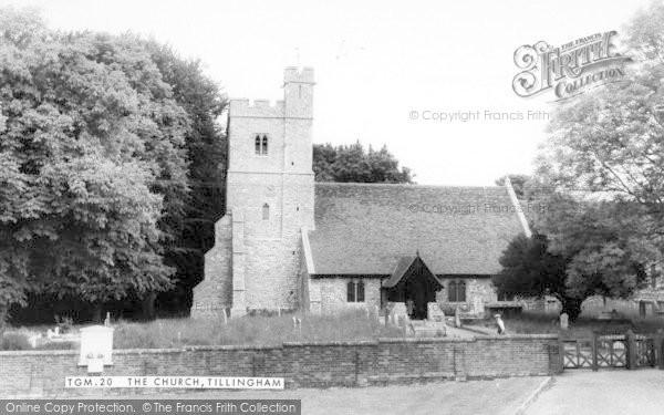Photo of Tillingham, St Nicholas Church c.1960