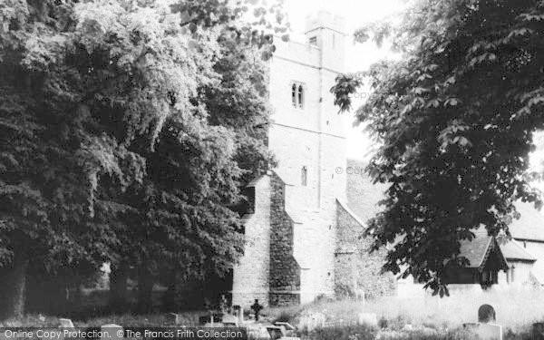 Photo of Tillingham, The Church c.1965