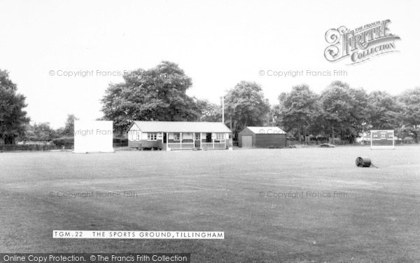 Photo of Tillingham, The Sports Ground c.1960