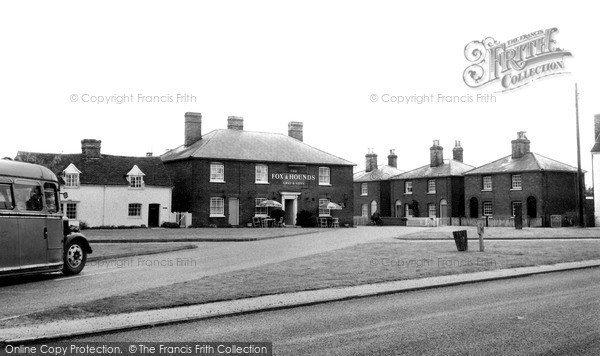 Photo of Tillingham, the Square c1965