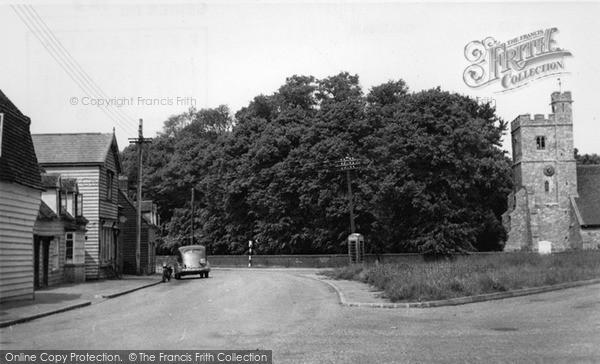 Photo of Tillingham, The Village c.1955