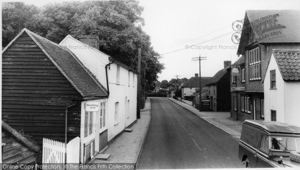 Photo of Tillingham, The Village c.1960
