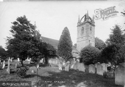 Tillington, All Hallows' Church 1898