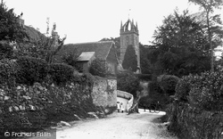 Tillington, All Hallows Church 1912