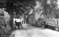 Tillington, Horse Drawn Trap In The Village 1912