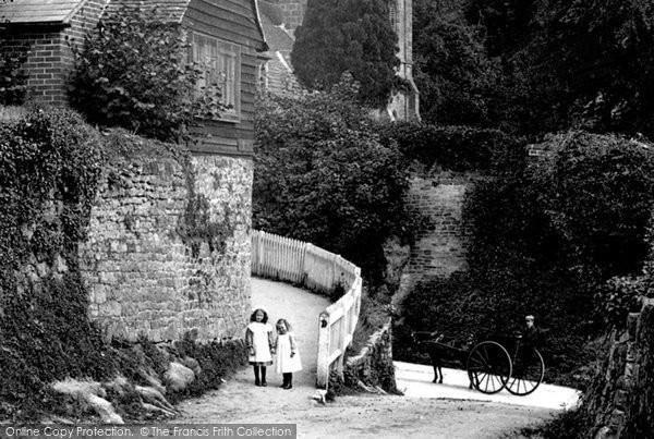 Photo of Tillington, In The Village 1912