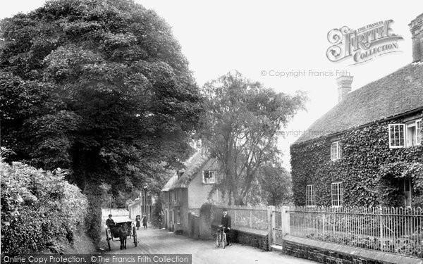 Photo of Tillington, The Village 1912
