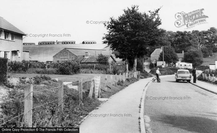 Photo of Tilshead, Army Camp c.1965