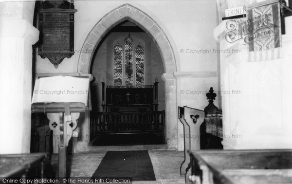 Photo of Tilshead, Interior, Parish Church Of St Thomas A'beckett c.1965