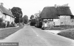 Tilshead, Old Thatched Cottages, High Street c.1965
