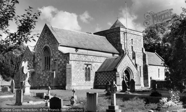Photo of Tilshead, Parish Church Of St Thomas A'beckett c.1965