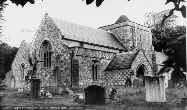 Photo of Tilshead, Parish Church Of St Thomas A'beckett c.1965