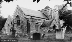 Tilshead, Parish Church Of St Thomas A'beckett c.1965
