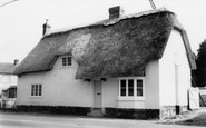 Tilshead, Thatched Cottage c1965