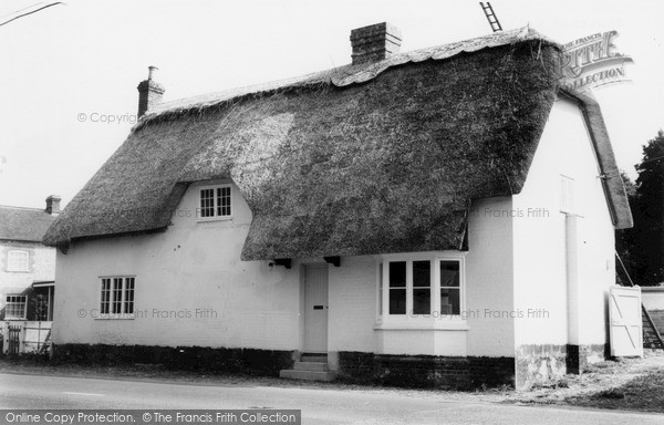 Photo of Tilshead, Thatched Cottage c1965