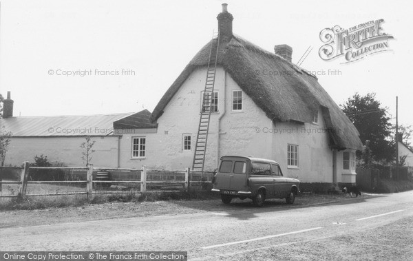 Photo of Tilshead, Thatched Cottage c.1965
