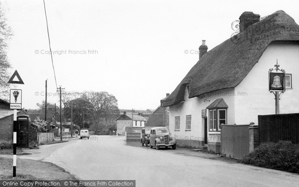 Photo of Tilshead, The Bell c.1955
