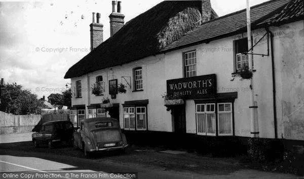 Photo of Tilshead, The Black Horse c.1965