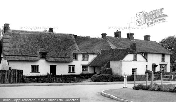 Photo of Tilshead, the Post Office c1955