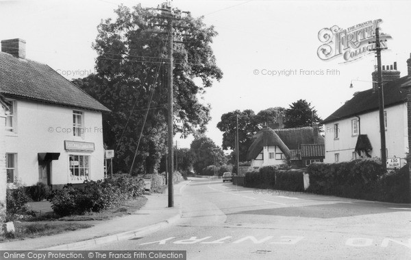 Photo of Tilshead, The Post Office c.1965