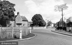 Tilshead, The Roundabout c.1965