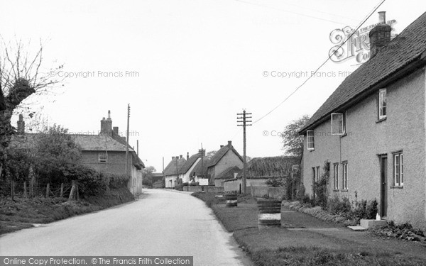 Photo of Tilshead, The Village c.1960