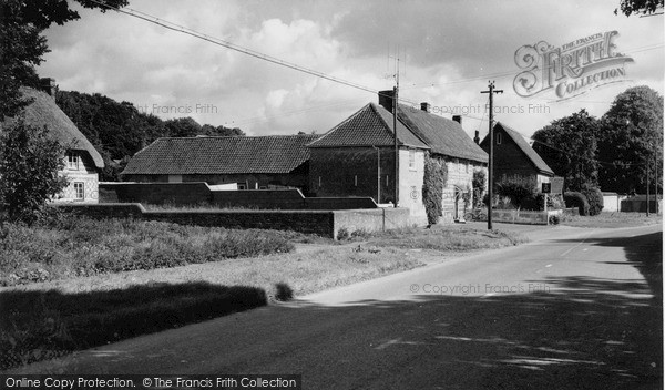 Photo of Tilshead, The Village c.1965
