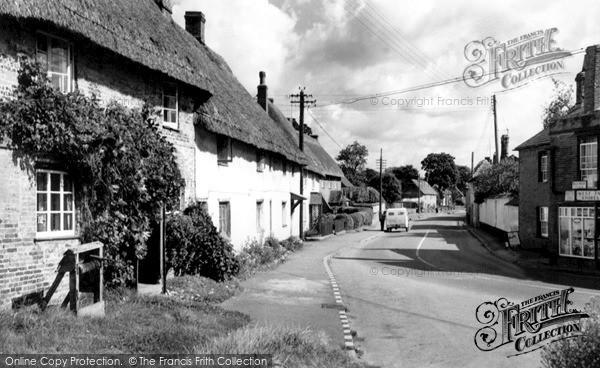 Photo of Tilshead, The Village, West End c.1965