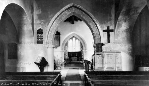 Photo of Tilshead, Thomas A'beckett Church c.1965