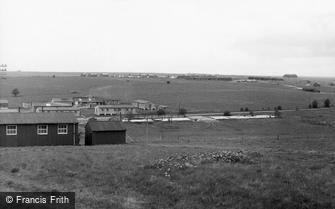 Tilshead, Westdown Camp c1955