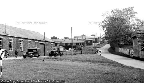 Photo of Tilshead, Westdown Camp c.1955