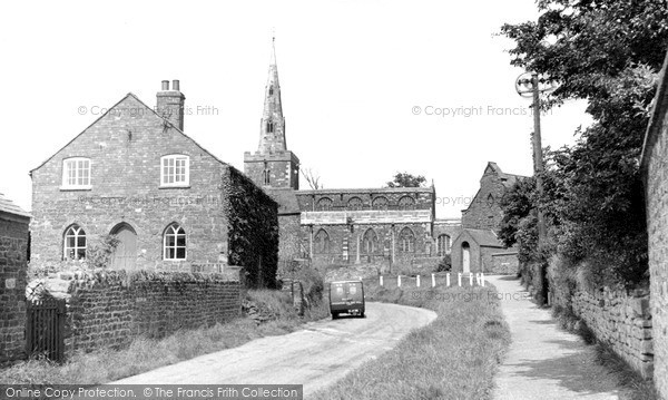 Photo of Tilton On The Hill, St Peter's Church And School c.1955