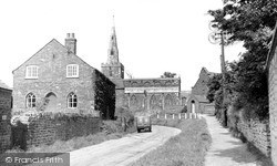 Tilton On The Hill, St Peter's Church And School c.1955