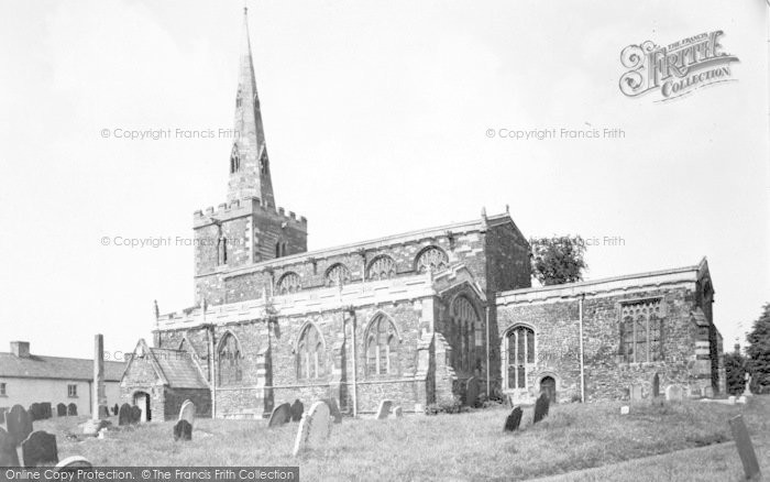 Photo of Tilton On The Hill, The Church c.1955