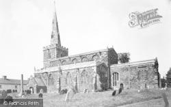 Tilton On The Hill, The Church c.1955