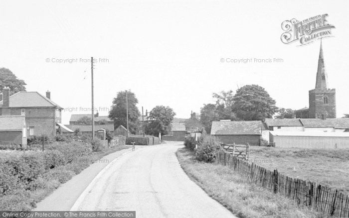 Photo of Tilton On The Hill, The Village c.1955