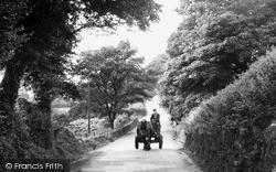 Horse And Cart In Weathercock Lane c.1950, Timbersbrook