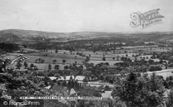 The Village From The Cloud c.1955, Timbersbrook