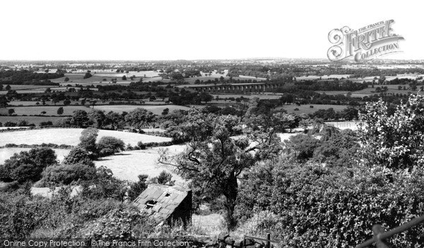 Photo of Timbersbrook, view from Cloud Road c1955