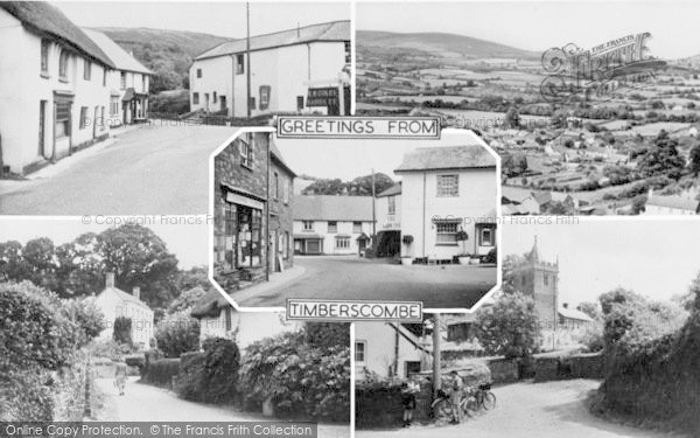 Photo of Timberscombe, Composite c.1955