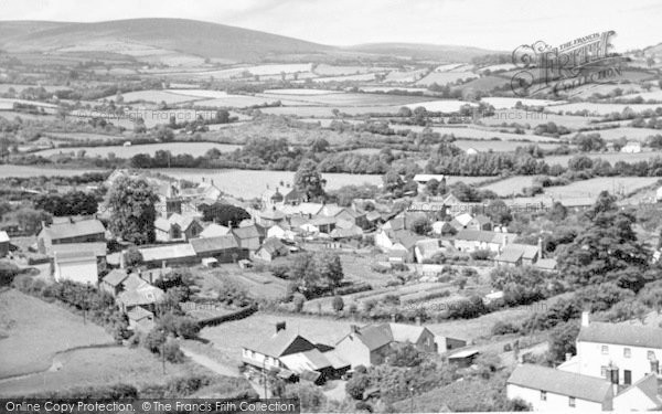 Photo of Timberscombe, General View c.1955